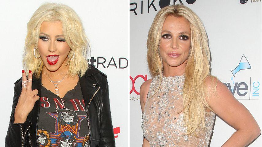 Lust auf Song mit Britney? Christina Aguilera heizt Fans an!