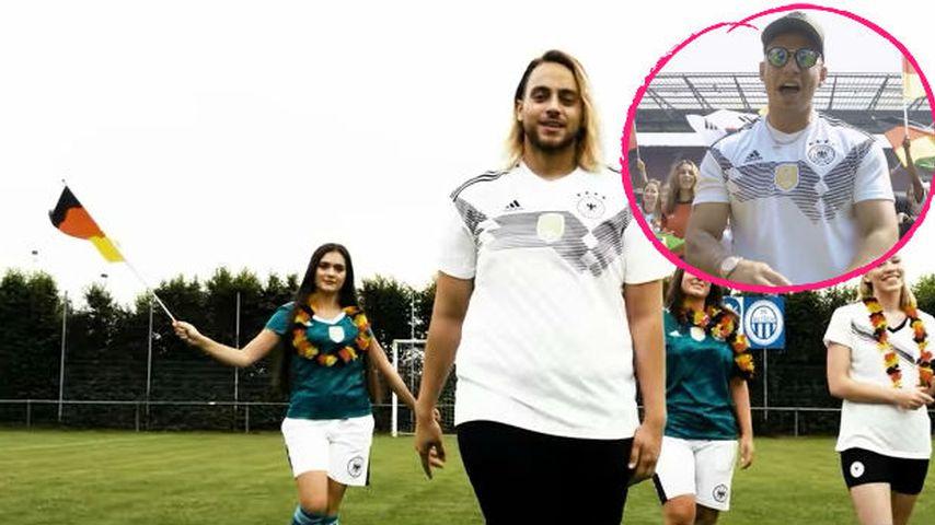 Das WM-Fieber verbindet: Christos ist Pietro Lombardi-Fan!