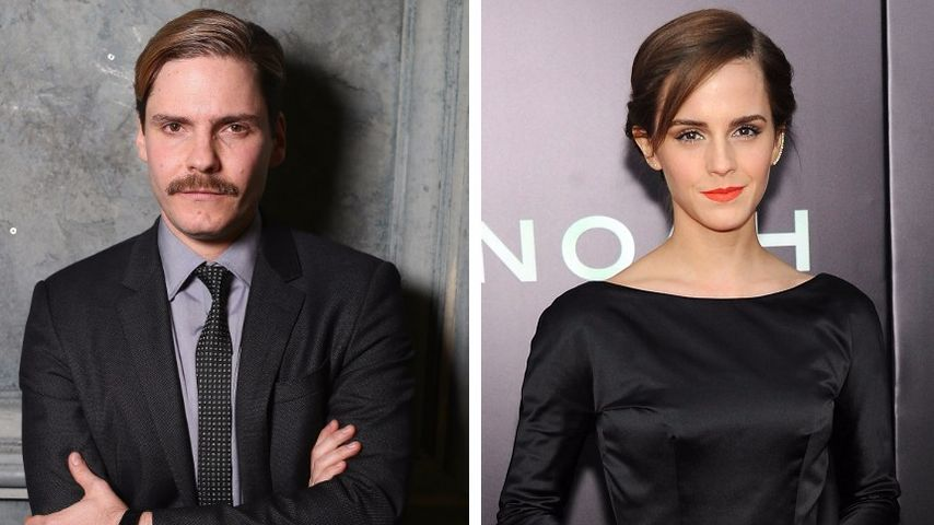 Kino-Traumpaar: So süß schwärmt Daniel Brühl von Emma Watson