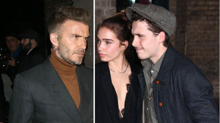 Schlecht für ihn? David Beckham rät Brooklyn von Freundin ab