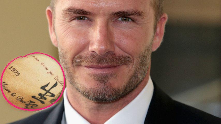 Wahre Liebe: Beckham-Kids kreieren Tattoos für ihren Daddy