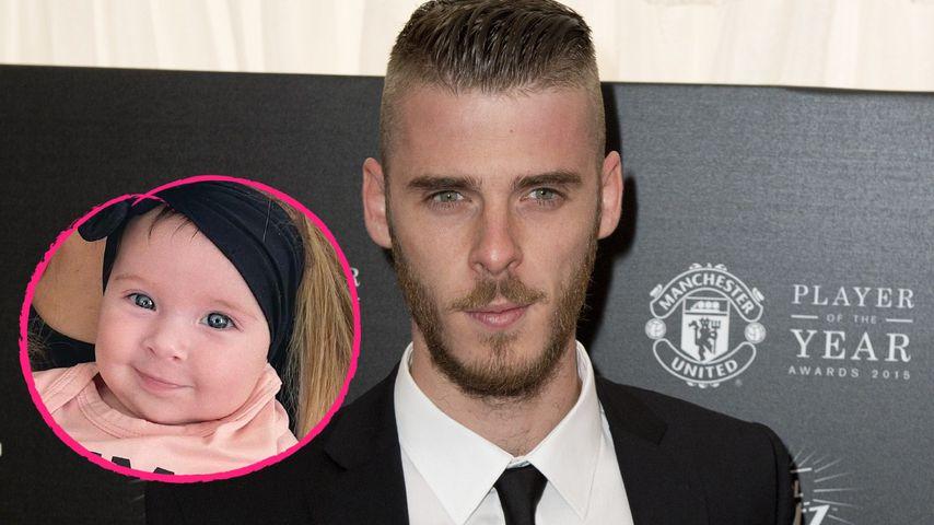 Erstmals mit Gesicht: Fußballstar David de Gea zeigt Tochter