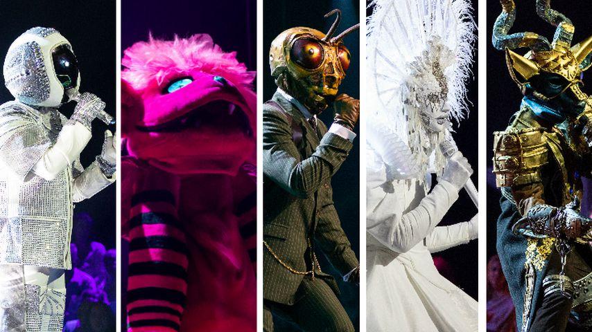 """""""Masked Singer""""-Analyse: Diese fünf Stars sind noch maskiert"""