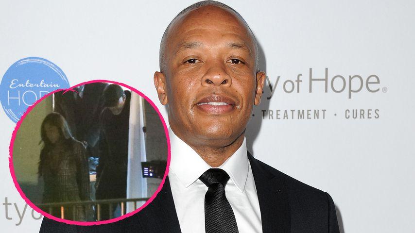 In weiblicher Begleitung: Ist Dr. Dre etwa wieder vergeben?