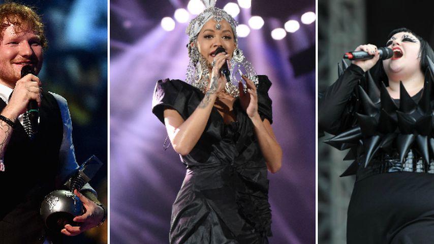 """Sheeran, Ora, Ditto & mehr! Sie performen beim """"TVoG""""-Finale"""
