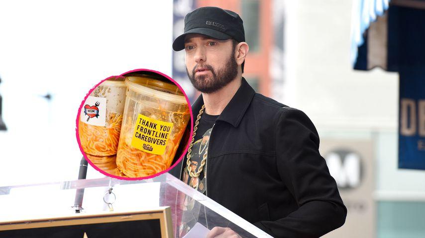 Mom's Spaghetti: Eminem schenkt Krankenhaus besondere Nudeln