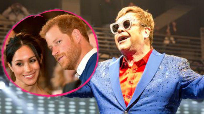 Harrys Heirat: Elton John hat noch keine Einladung bekommen!