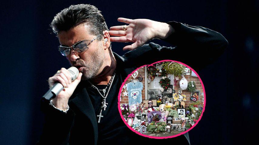 Blumen & Kerzen: Fans trauern um George Michael (†53)!