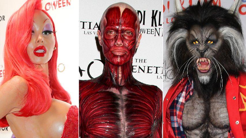 Eindeutig: Das sind Heidi Klums 5 beste Halloween-Kostüme!