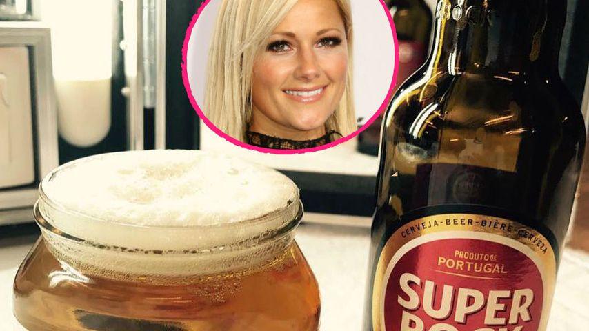 Nach Maß-Einlage: Helene Fischer trinkt Bier zum Frühstück!
