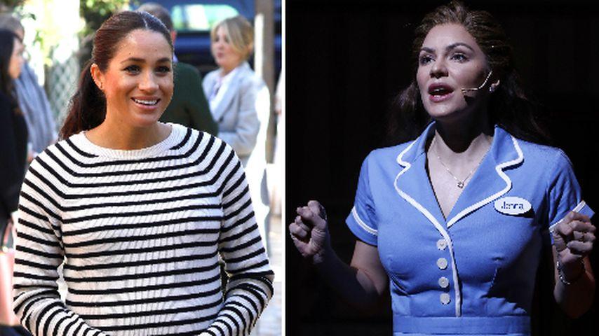Meghan bald mit Katharine McPhee zusammen in einem Musical?