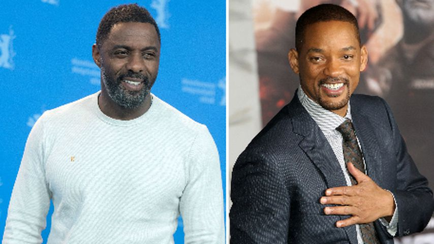 Collage: Idris Elba und Will Smith