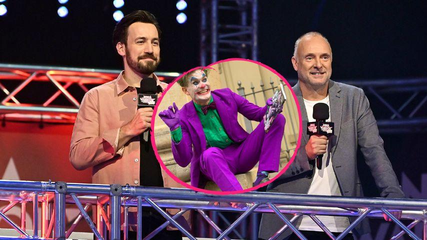 """Joker-Imitator treibt """"Ninja Warrior""""-Team in den Wahnsinn!"""