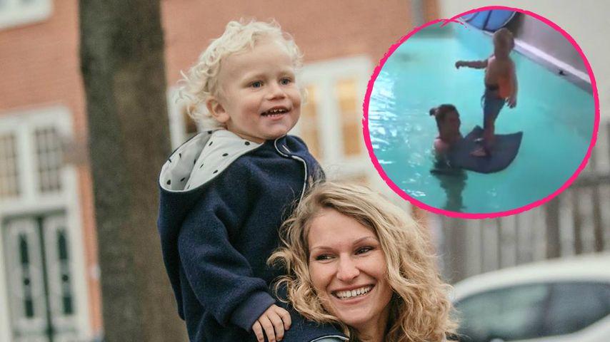 Meilenstein: Emil-Ocean geht zum Schwimm-Unterricht!