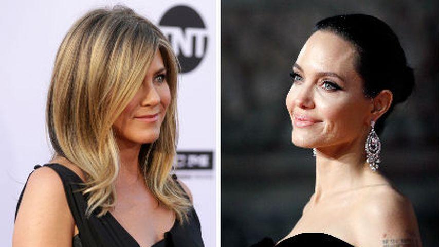 Begraben Angelina Jolie und Jennifer Aniston das Kriegsbeil?