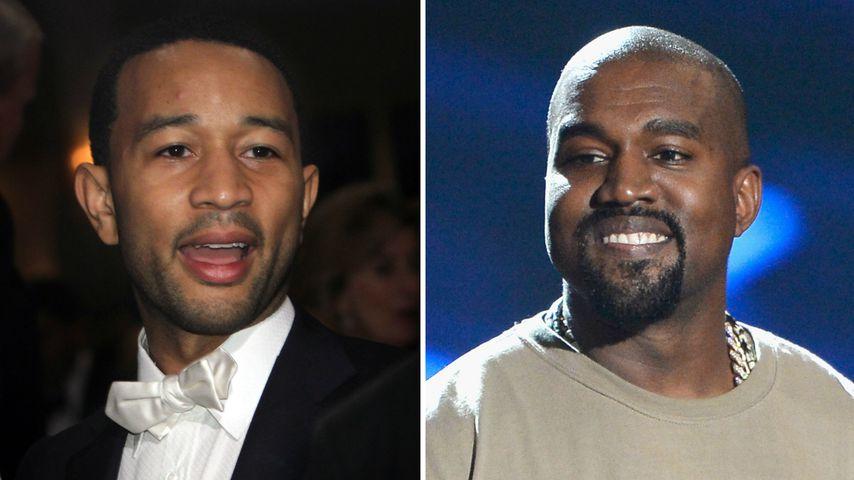 Nach Trump-Support: Ist John Legend nicht mehr Kanyes Buddy?