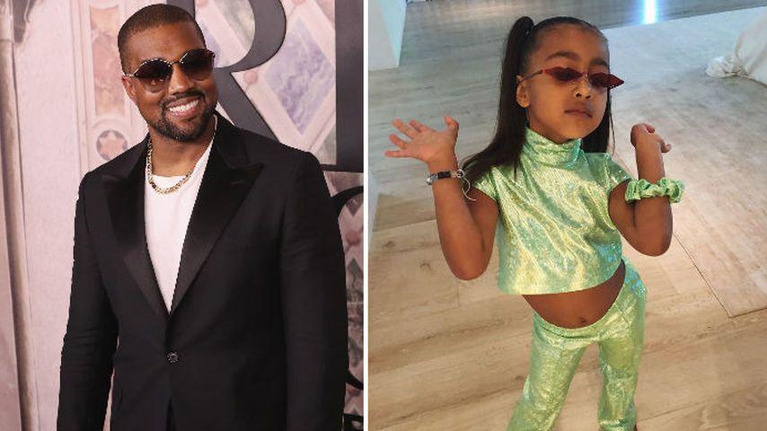 Wie Papa Kanye West: Töchterchen North will Rapperin werden!