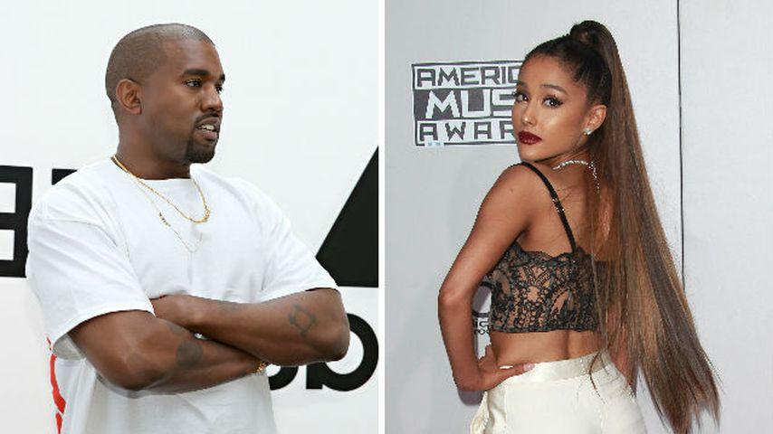 Ein Kanye für alle Fälle: Er ersetzt Ariana Grandes Auftritt