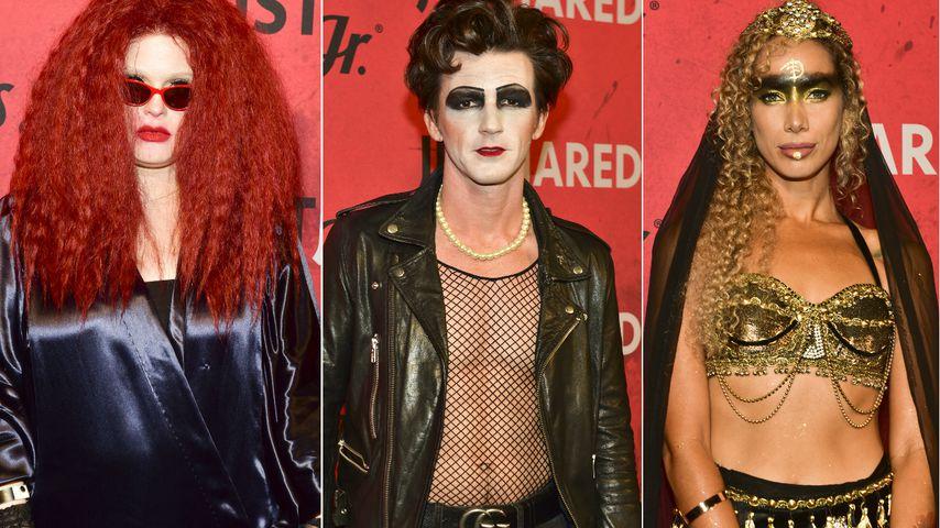 Halloween-Pre-Party: Das sind die schrägsten Looks der Stars