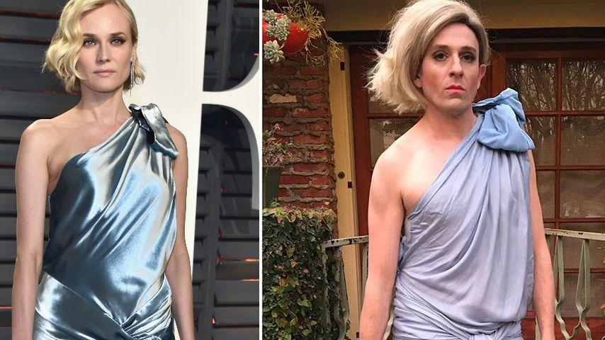 """""""Buffy""""-Star veräppelt Diane Kruger – und die findet's gut!"""