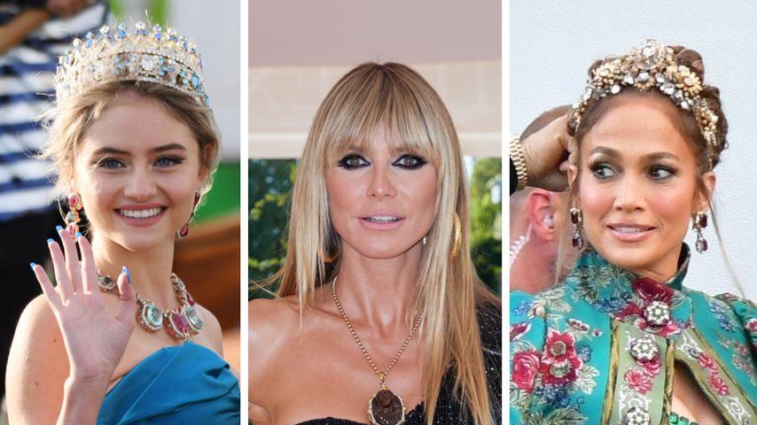 Mit Leni, Heidi und J.Lo: Strahlender Starauflauf in Venedig