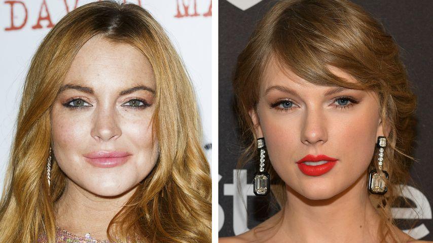Ups! Lindsay Lohan freut sich auf abgesagten Taylor-Gig