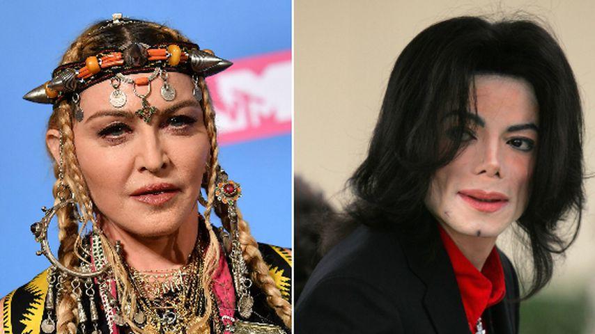 Wollte MJ wegen nackter Madonna nie mehr Sex mit Frauen?