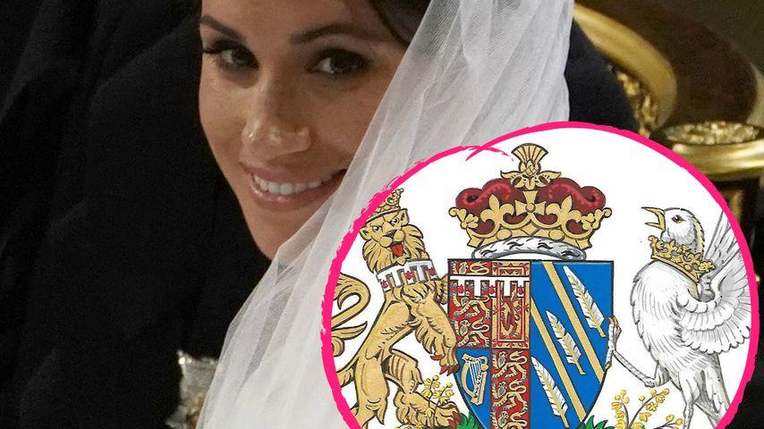 Nach Meghan und Harrys Hochzeit: Offizielles Wappen enthüllt