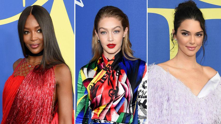 Naomi, Gigi, Kendall & Co.: Die schönsten CFDA-Looks 2018!