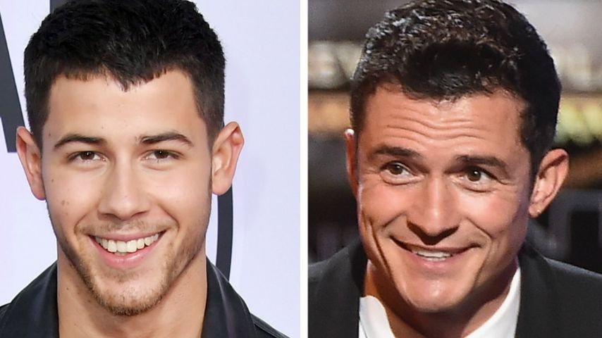 Nick Jonas und Orlando Bloom