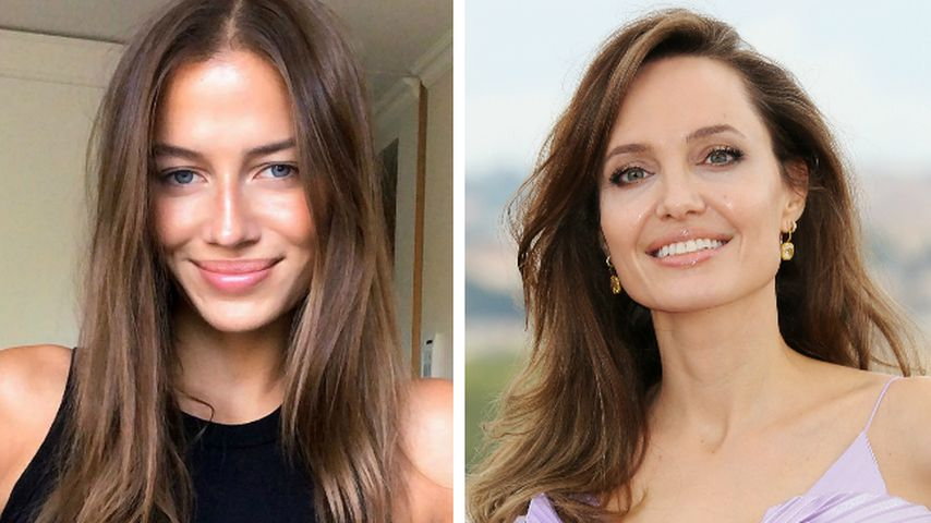 Brad Pitts Neue sieht aus wie die junge Angelina Jolie!