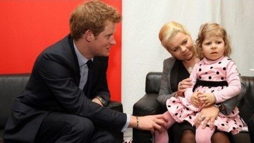 Prinz Harry von kleiner Dame abgewiesen