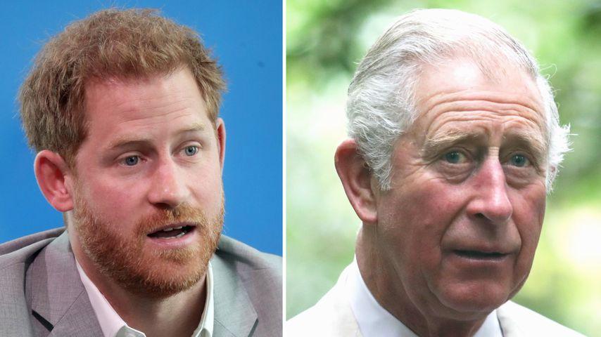 Harrys Reise nach London: Prinz Charles wird ihn nicht sehen