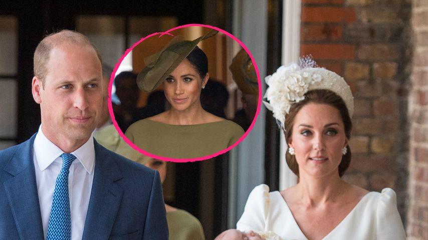Wollten William & Kate etwa Meghan nicht zur Taufe einladen?