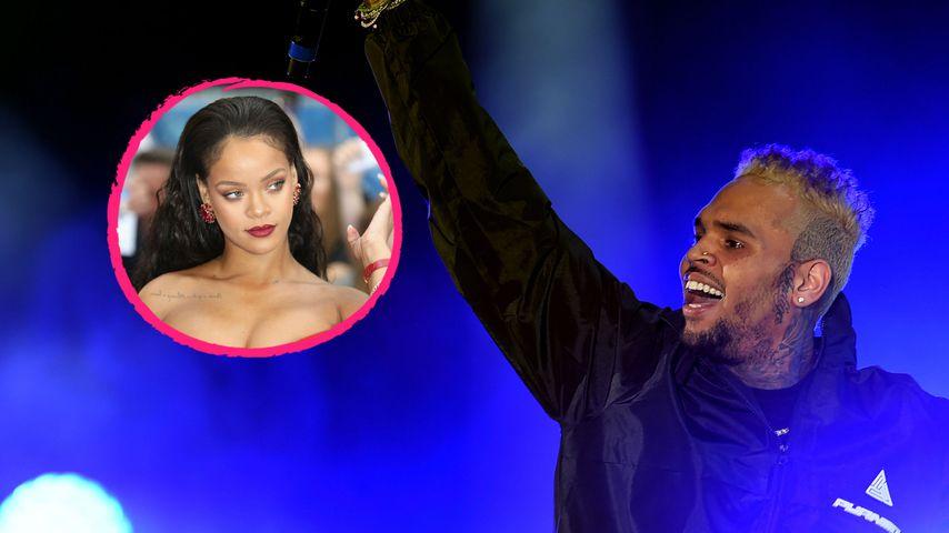 Rihannas angebliches Liebesaus: So reagiert Ex Chris Brown!
