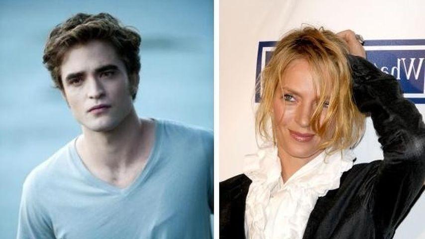 Robert Pattinson und Uma Thurman