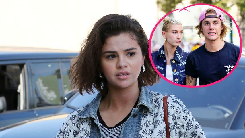 Justins Verlobung: Reagiert Ex Sel mit diesem Shirt darauf?