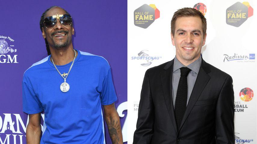 Nanu?! Snoop Dogg postet angemalten Philipp Lahm auf Insta!