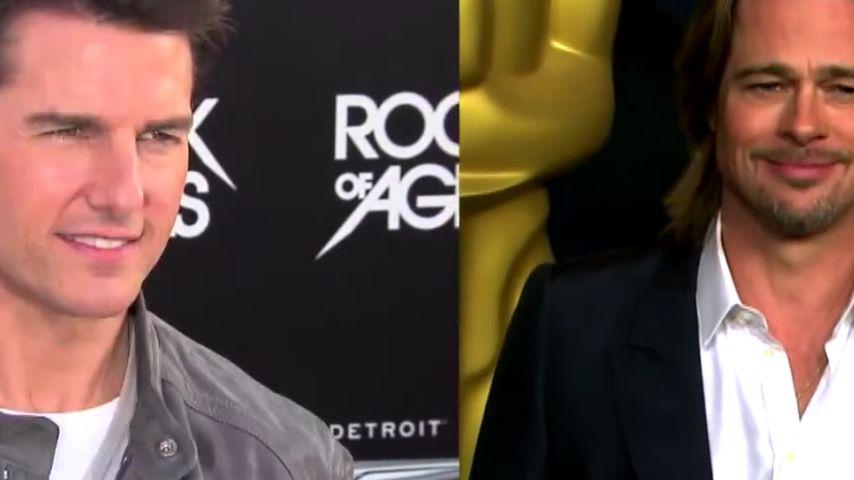 Nach 20 Jahren: Tom Cruise & Brad Pitt vereint!