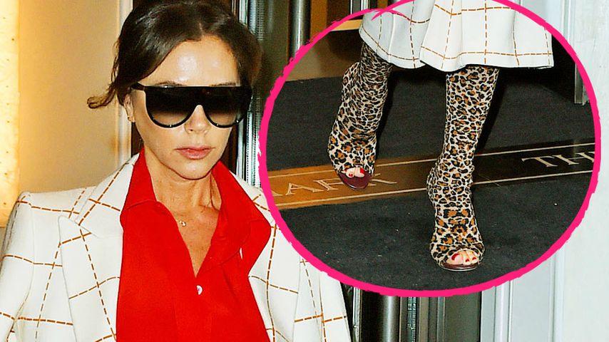 Victoria Beckham: Ein wilder Muster-Mix oder cooler Style?