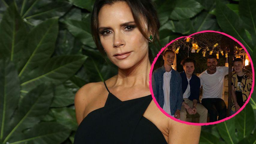 Wieder vereint: Victoria Beckham teilt ein Foto ihrer Jungs!