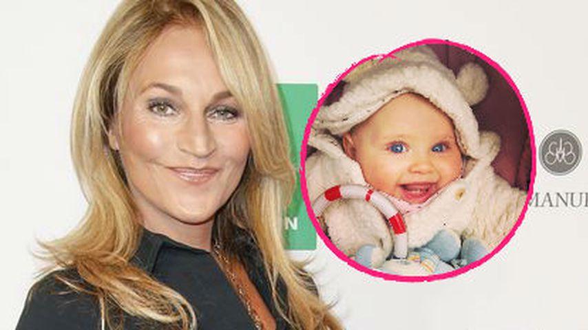 Mit 2 Zähnchen: So süß lächelt Caroline Beils Tochter Ava
