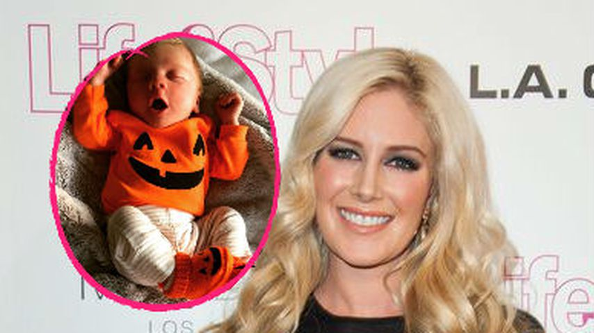 Süßer Baby-Kürbis! Heidi Montags Sohn feiert 1. Halloween