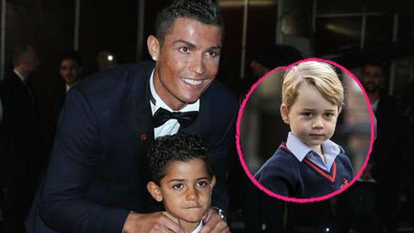 Cristiano Ronaldo: Sohn soll auf Prinz Georges Schule gehen
