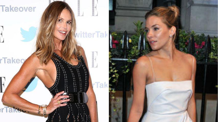 Collage von Elle MacPherson und Sienna Miller