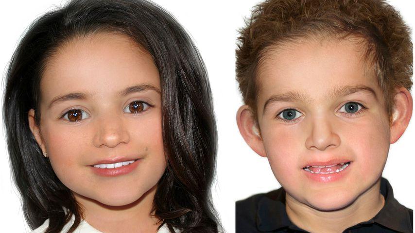 So könnten die Kinder von Meghan und Prinz Harry aussehen!