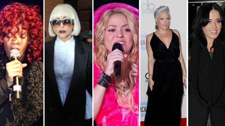 Wer ist der beste weibliche Künstler 2010?