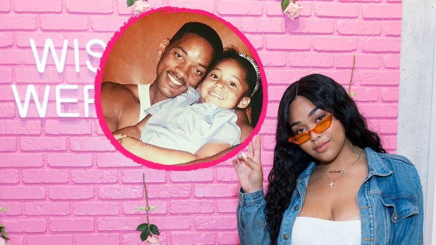 """Vatertag: Jordyn Woods dankt ihrem """"zweiten Dad"""" Will Smith"""