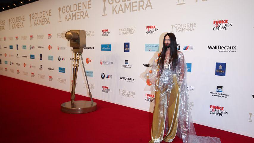 Conchita Wurst bei der Goldenen Kamera 2018