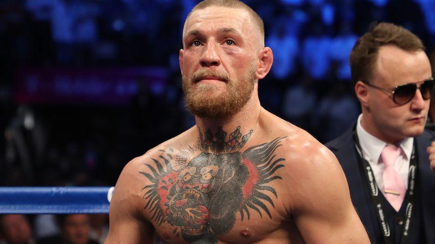 Gegner attackiert: Boxer Conor McGregor in Polizei-Gewahrsam